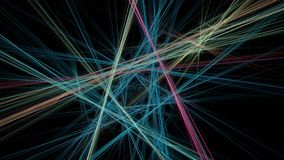 líneas abstractas modelo foto de archivo
