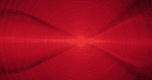 Líneas abstractas rojas fondo de las partículas de las curvas Fotos de archivo