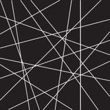Líneas al azar de la raya del modelo geométrico abstracto stock de ilustración