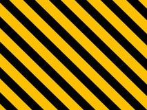 Líneas amonestadoras del peligro Fotografía de archivo libre de regalías
