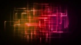 Líneas anaranjadas y rosadas que forman formas geométricas libre illustration