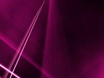 Líneas angulosas a través de una niebla rosada Imagen de archivo libre de regalías