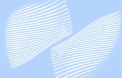 Líneas azules Fotografía de archivo