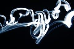 Líneas azules Foto de archivo libre de regalías