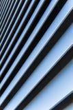 Líneas azules en la ascensión sucesiva Fotografía de archivo libre de regalías