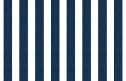 Líneas azules en un fondo blanco - modelo del dril de algodón de los vaqueros para las materias textiles Fotografía de archivo libre de regalías