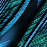 Líneas azules rayadas ilustración del vector