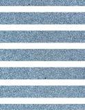 Líneas azules relucientes anchas Foto de archivo libre de regalías