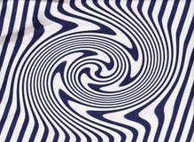 Líneas azules y blancas textura de la materia textil Foto de archivo