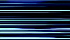 Líneas brillantes llevadas azules rayadas fondo Fotos de archivo libres de regalías