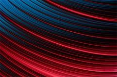 Líneas brillantes modelo que brilla intensamente D. del contraste. Imagenes de archivo