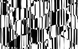 Líneas caóticas al azar modelo geométrico del extracto Foto de archivo libre de regalías