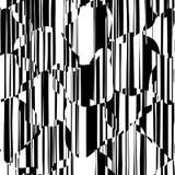 Líneas caóticas al azar modelo geométrico del extracto Fotos de archivo
