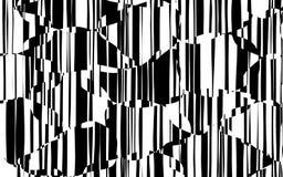 Líneas caóticas al azar modelo geométrico del extracto Foto de archivo