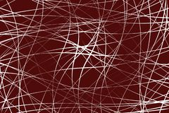 Líneas caóticas al azar modelo/textura geométricos del extracto moder stock de ilustración