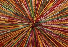 Líneas coloreadas Foto de archivo