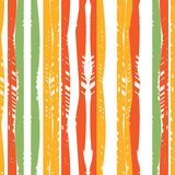 Líneas coloreadas del modelo abstracto inconsútil Foto de archivo