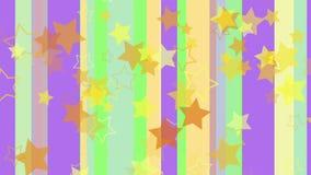 Líneas coloreadas del pastel stock de ilustración