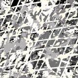Líneas coloreadas modelo de la pintada en un ejemplo negro del vector del fondo Fotos de archivo libres de regalías