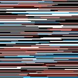 Líneas coloreadas rectas horizontales modelo ilustración del vector
