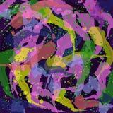Líneas coloridas abstractas Imágenes de archivo libres de regalías
