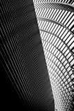 Líneas convergentes Imagen de archivo libre de regalías