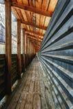 Líneas convergentes de perspectiva Fotografía de archivo libre de regalías