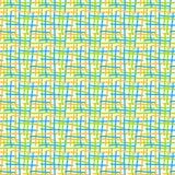 Líneas cruzadas fondo inconsútil del extracto Fotografía de archivo