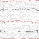 Líneas curvadas coloridas Imágenes de archivo libres de regalías