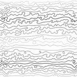 Líneas curvadas coloridas Imagen de archivo libre de regalías