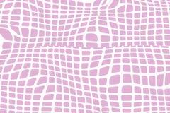 Líneas curvadas fondo abstracto, célula Foto de archivo libre de regalías
