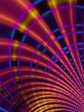 Líneas curvadas modelo de las rayas Fotografía de archivo libre de regalías