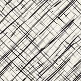Líneas dañadas modelo inconsútil ilustración del vector