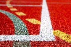 Líneas de campos de deportes Imágenes de archivo libres de regalías