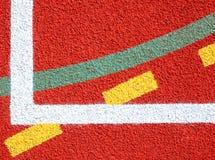 Líneas de campos de deportes Imagenes de archivo
