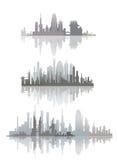 Líneas de ciudad Imagenes de archivo