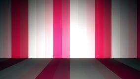 Líneas de color Altos fondos del movimiento del cgi de la definición Líneas coloreadas verticales stock de ilustración