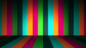 Líneas de color Altos fondos del movimiento del cgi de la definición Líneas coloreadas verticales ilustración del vector