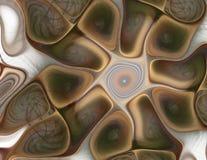 Líneas de color elegantes en un fondo Formas geométricas, orgánicas Un contexto hermoso para el substrato Para el diseño y la ins libre illustration