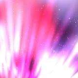 Líneas de fuego con las chispas en fondo borroso Imagen de archivo libre de regalías