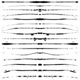 Líneas de Grunge ilustración del vector