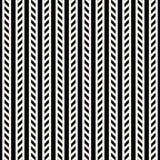 Líneas de impresión mínimas blancos y negros geométricas abstractas del diseño gráfico modelo Foto de archivo