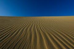 Líneas de la arena Fotografía de archivo