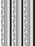 Líneas de las mariposas Imagen de archivo