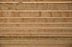 Líneas de listón de madera fotografía de archivo libre de regalías