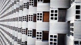 Líneas de los ladrillos Imagen de archivo