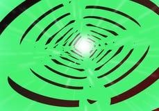 Líneas de luces del túnel Foto de archivo libre de regalías