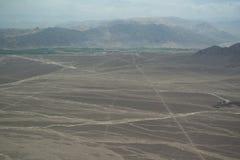 Líneas de Nasca en Perú Fotos de archivo libres de regalías
