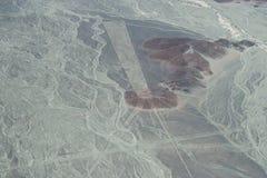 Líneas de Nasca en Perú Foto de archivo libre de regalías