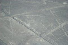Líneas de Nasca en Perú Imagen de archivo